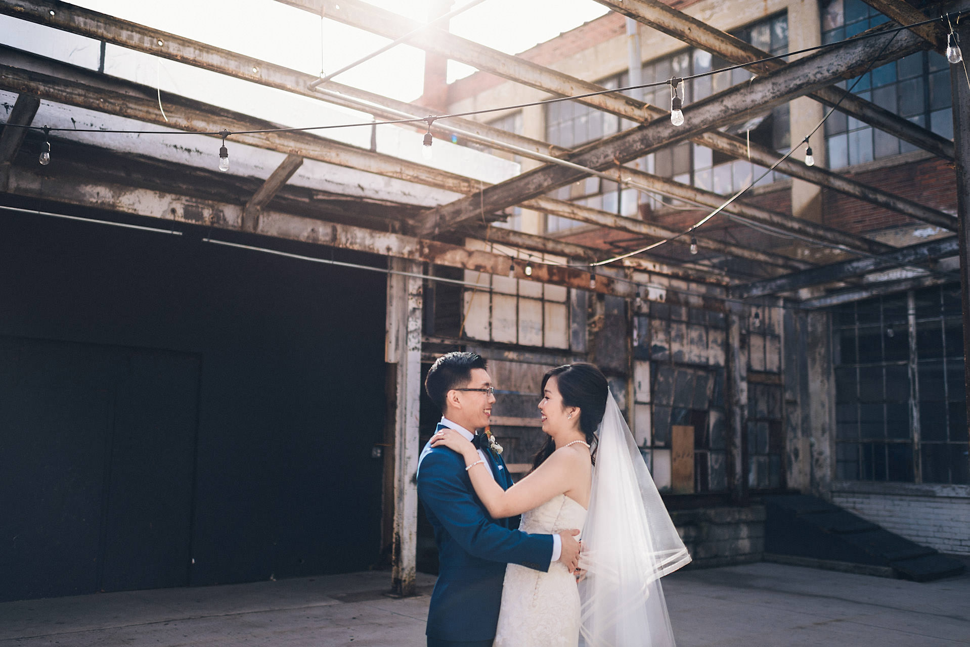 korean wedding portrait at Strongwater