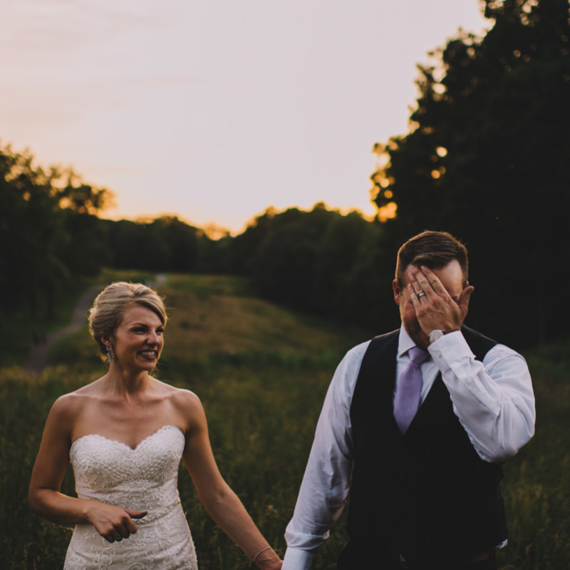 Acacia Reservation Wedding Photography \\ Allison & Evan