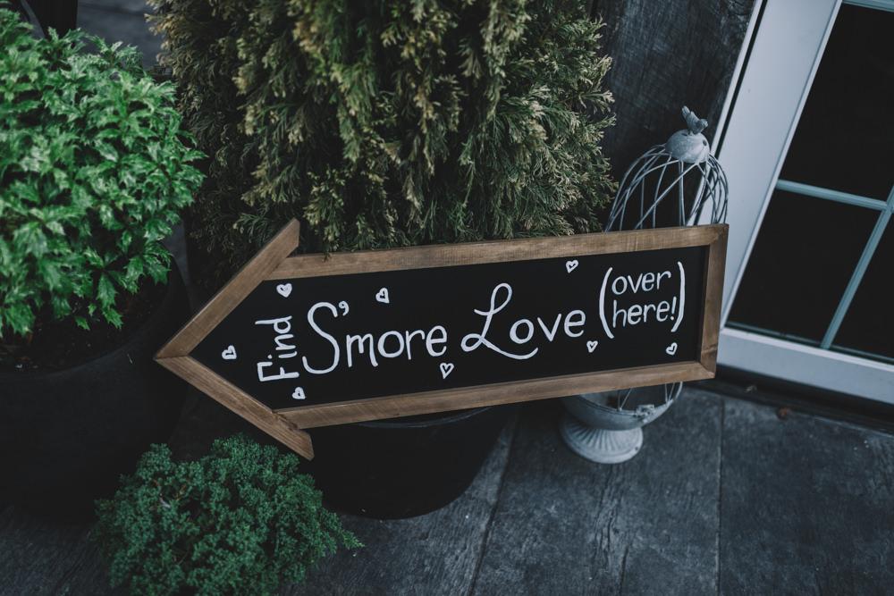 wedding smores