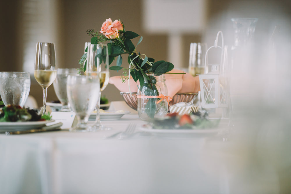 table settings at station 67 wedding photography in columbus ohio