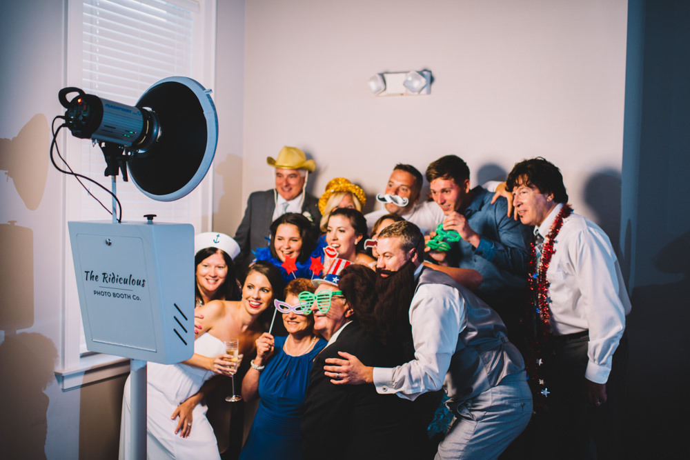 The Ridiculous Photo Booth at station 67 wedding