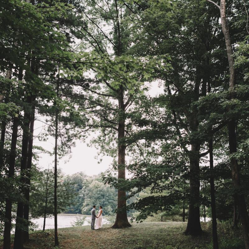 Candlewood Lake Backyard Wedding Photography \\ Katie & Tim
