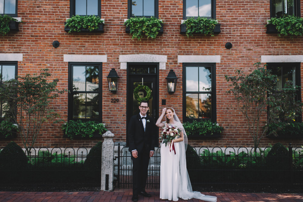 German Village wedding photography in Columbus ohio