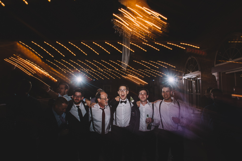 wild dance party at a via vecchia winery jewish wedding photography