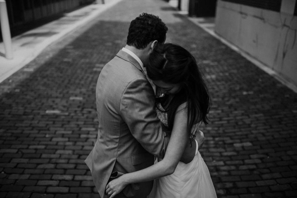 Short North wedding photography in columbus ohio