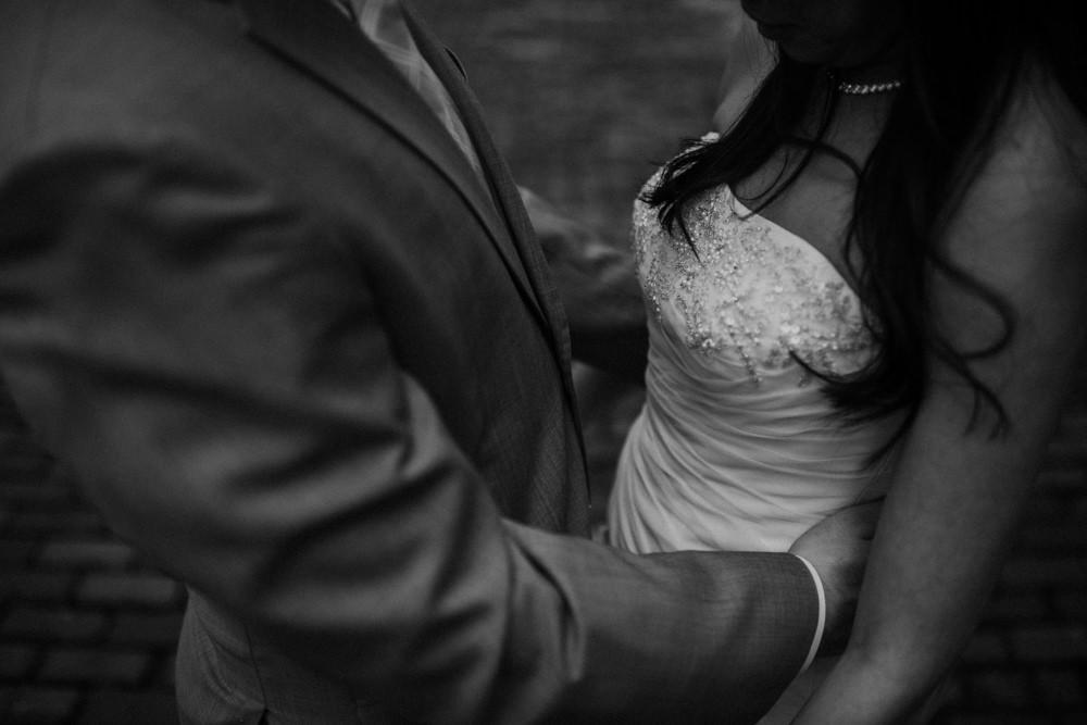 honest Short North wedding photography in columbus ohio