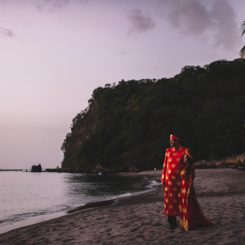 Jade Mountain Destination Wedding Photography, St. Lucia \\ Nga & Todd