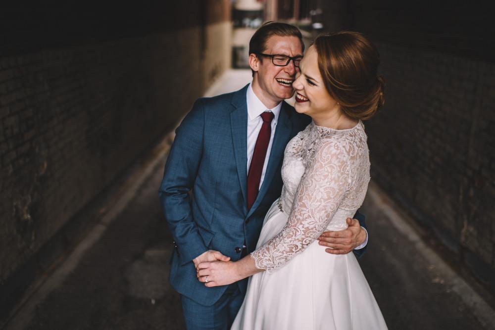 Cleveland arcade wedding photography