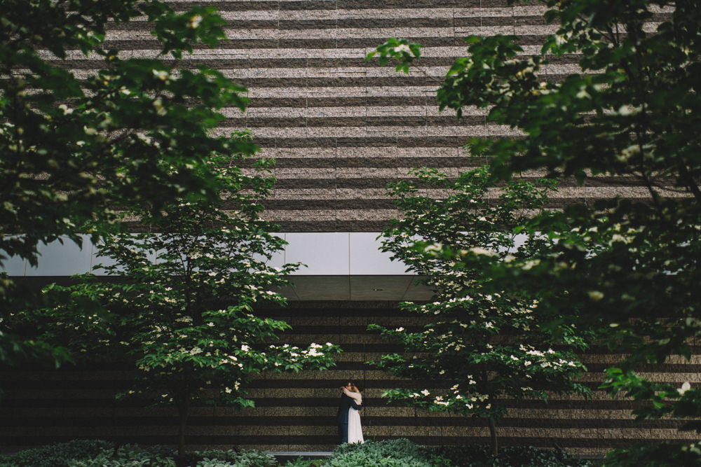 Wedding photography the Cleveland Museum of Art