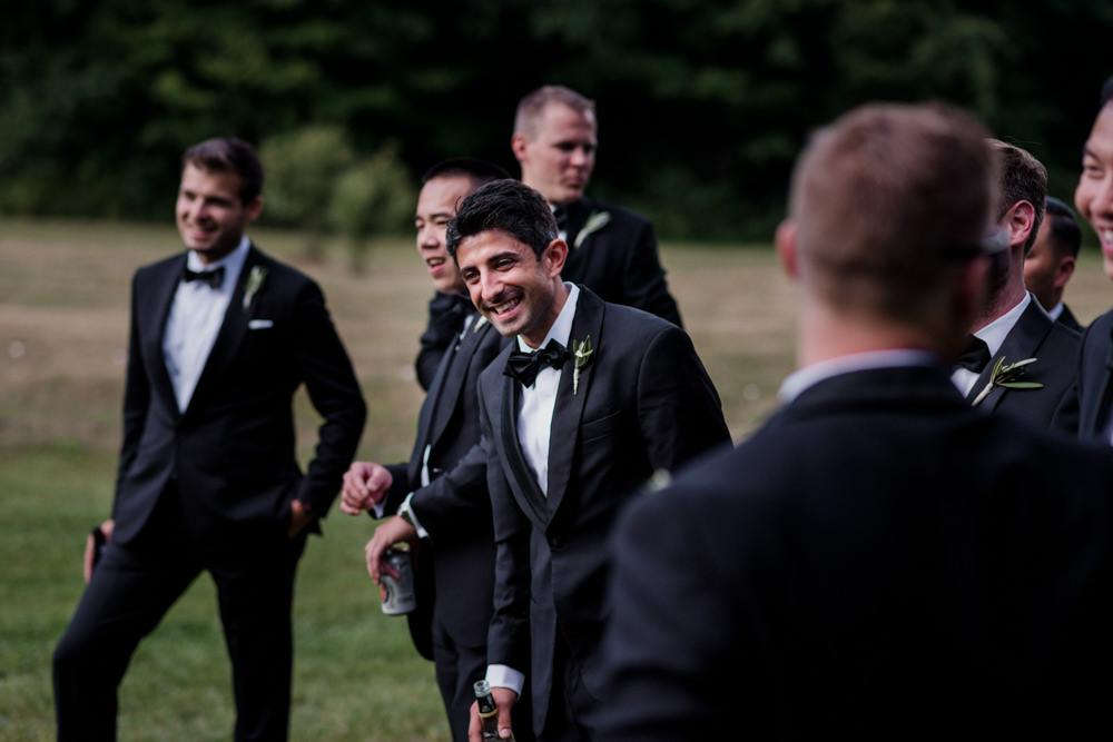 Chardon Ohio outdoor farm wedding